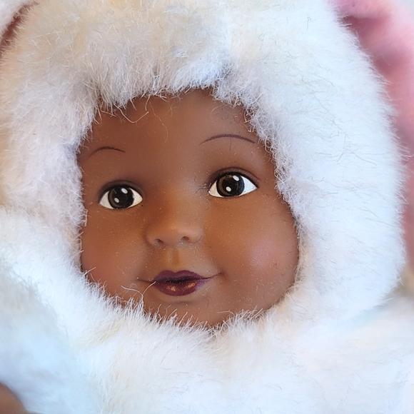 Anne Geddes bunny baby African American